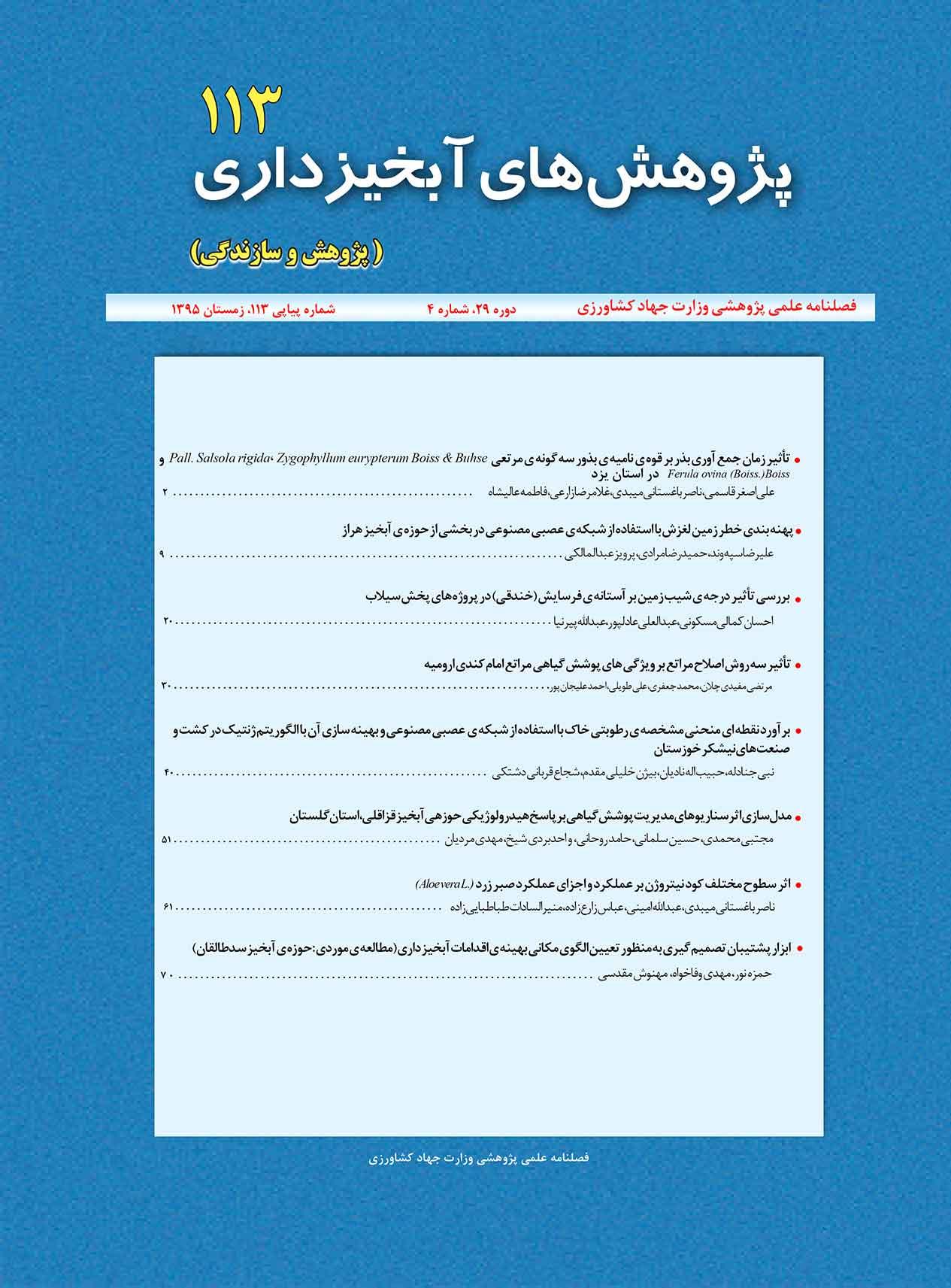 پژوهش های آبخیزداری (پژوهش و سازندگی)